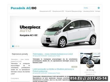 Zrzut strony Ac-oc.org - wszystko o ubezpieczeniach samochodu
