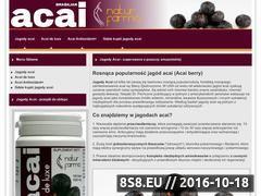 Miniaturka domeny acai.com.pl