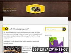 Miniaturka domeny acaijagody.com.pl