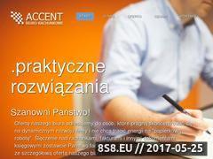 Miniaturka domeny www.accent.wroclaw.pl