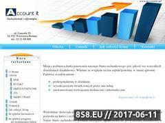 Miniaturka domeny www.accountit.pl