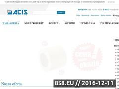 Miniaturka domeny www.acis.com.pl