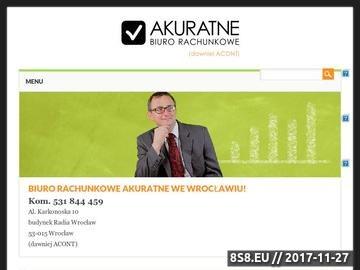 Zrzut strony Biuro rachunkowe Wrocław księgowość i podatki