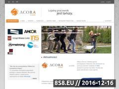 Miniaturka domeny www.acora.pl