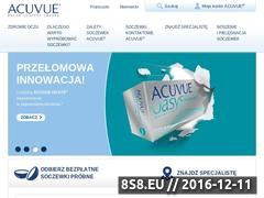 Miniaturka domeny www.acuvue.pl