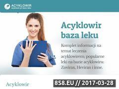 Miniaturka domeny acyklowir.pl