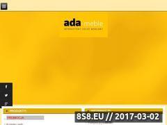 Miniaturka domeny www.ada-meble.pl