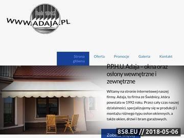 Zrzut strony Adaja - bramy