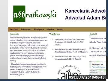Zrzut strony Kancelaria Adwokacka A.Bratkowski - testamenty