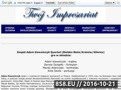 Miniaturka domeny adamkawonczykquartet.twoj-impresariat.pl