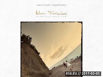 Zrzut strony Adam Trzcionka - fotografia ślubna w Krakowie