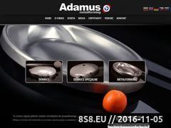 Miniaturka domeny adamus.pl