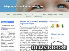 Miniaturka domeny www.adaptacja.za.pl