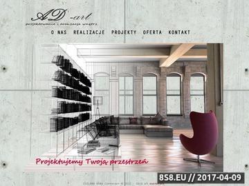 Zrzut strony Projektowanie i aranżacja wnętrz Zielona Góra