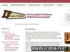 Miniaturka domeny www.adasmeble.pl