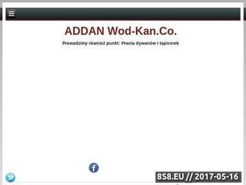 Zrzut strony ADDAN WOD-KAN.CO. instalacja CO z miedzi