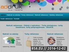 Miniaturka domeny addruk.com