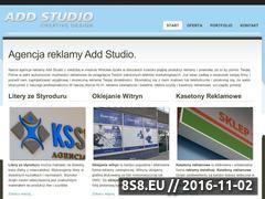 Miniaturka domeny addstudio.pl