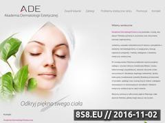 Miniaturka domeny www.adedermatologia.pl