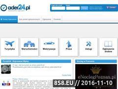 Miniaturka domeny www.ader24.pl