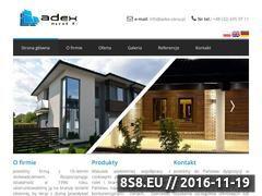 Miniaturka domeny www.adex-okna.pl