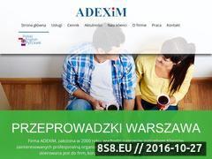 Miniaturka domeny adexim.pl