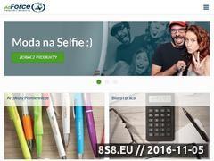 Miniaturka domeny www.adforce.pl