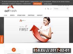 Miniaturka domeny adfresh.pl