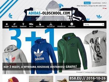 Zrzut strony Oryginalna odzież i obuwie firmy Adidas