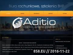Miniaturka domeny aditio.pl