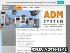 Miniaturka domeny admsystem.pl