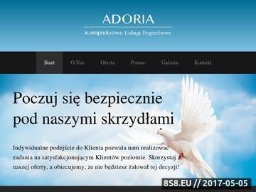 Zrzut strony Przewóz zwłok Wrocław - Adoria