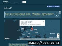 Miniaturka domeny www.adres-ip.pl