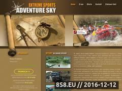 Miniaturka domeny www.adventure-sky.pl