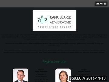 Zrzut strony Porady prawne Piaseczno