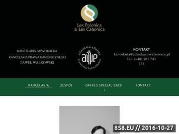 Zrzut strony Kancelaria Adwokacka Adwokat Paweł Walkowski Jastrzębie - Zdrój