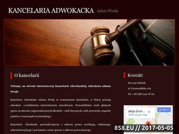 Zrzut strony Adam Przała - spadki Gdańsk