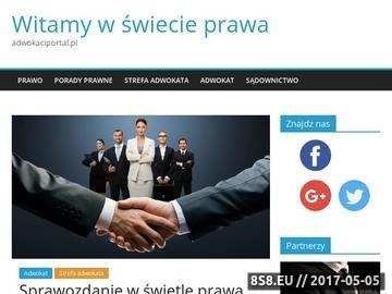 Zrzut strony Lech Sobolewski prawnik