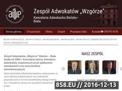Miniaturka domeny adwokacibielsko.pl