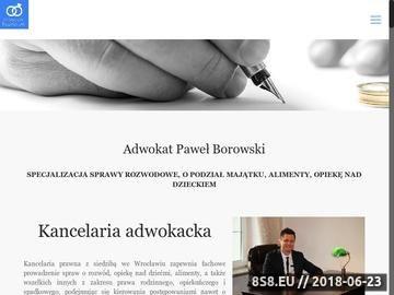 Zrzut strony Adwokat rozwód Wrocław