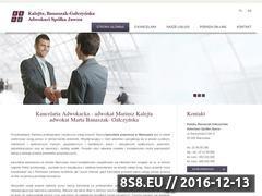 Miniaturka domeny www.adwokat-kalejta.pl