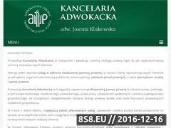 Miniaturka domeny adwokat-klukowska.pl