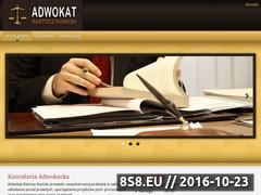 Miniaturka domeny adwokat-kunicki.pl