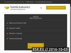 Miniaturka domeny adwokat-lukowicz.pl