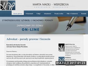 Zrzut strony Adwokat szczecin