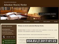 Miniaturka domeny adwokat-mh.pl