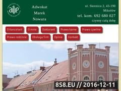 Miniaturka domeny adwokat-nowara.pl