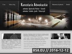 Miniaturka domeny www.adwokat-nowysacz.info