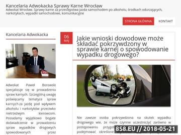 Zrzut strony Adwokat prawo karne - Wrocław