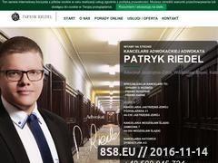 Miniaturka domeny adwokat-riedel.pl